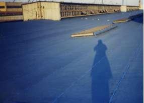 大连造船厂加工车间屋面防水工程